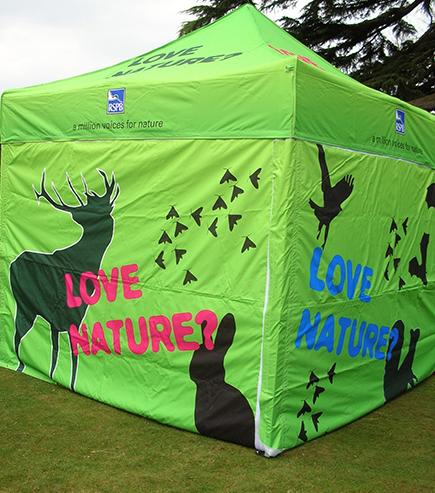 Love Nature Outdoor branded Gazebo