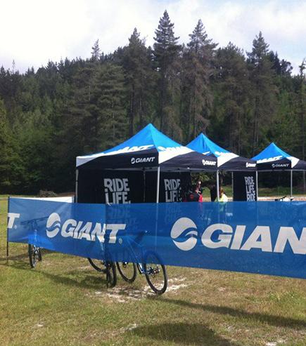 Giant Outdoor printed gazebo