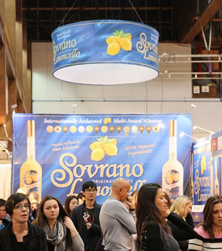 Sourano Hanging sign & ceiling banner