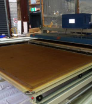 flatbed heat press