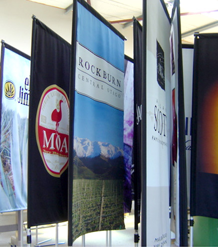 portable promotional flags
