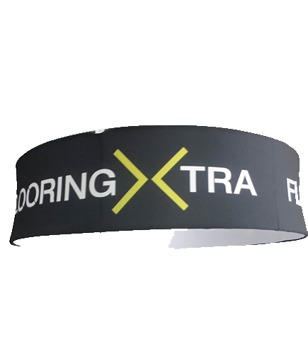 Flooring Xtra hanging signage and ceiling banner