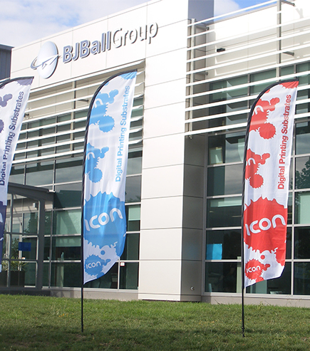 Icon Branded Flags