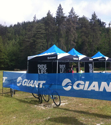 Giant Outdoor printed gazebo