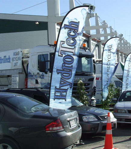 Hydrotech Branded Flags