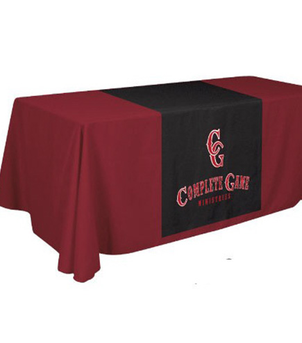 tradeshow table cover