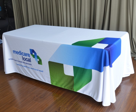 Custom Printed Table Covers Table Cloths And Runners For
